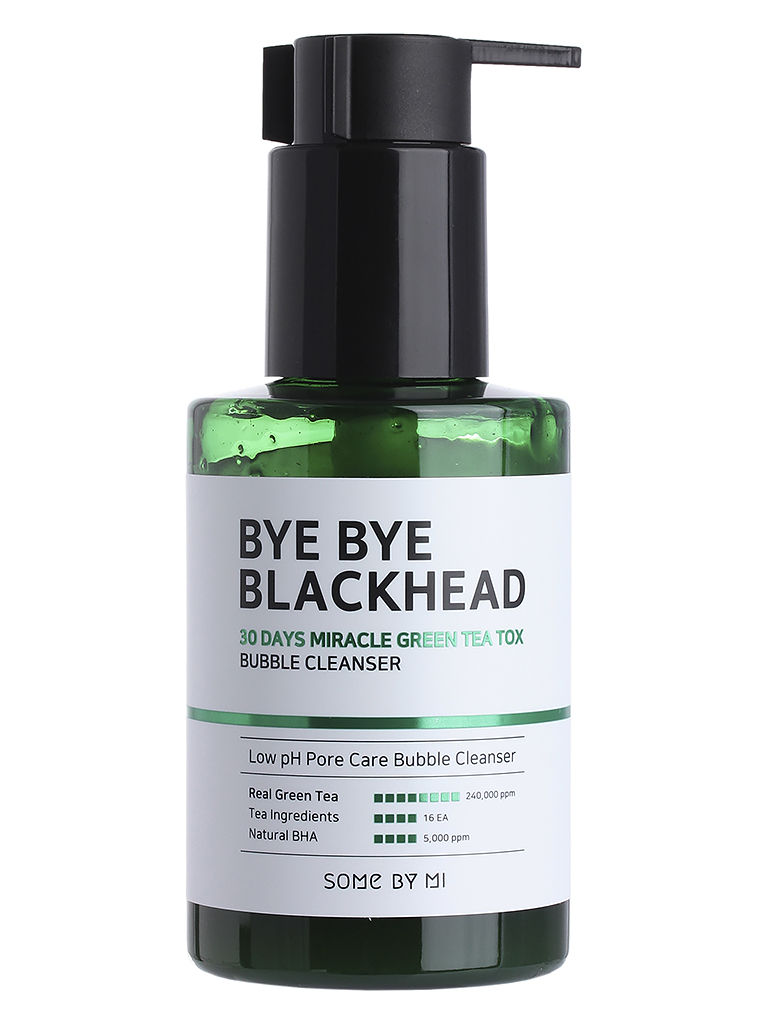 Пенка-маска от черных точек Some By Mi Bye Bye Blackhead Bubble Cleanser Just 5 min, 120 г
