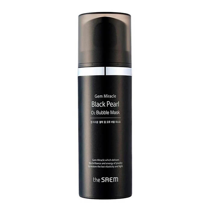 Маска кислородная с экстрактом жемчуга The Saem Gem Miracle Black Pearl O2 Bubble Mask, 105 г